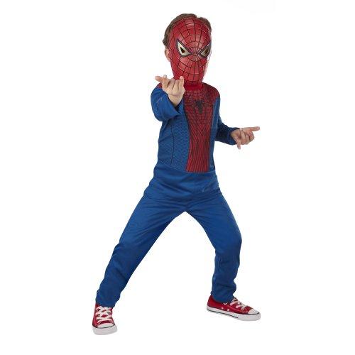 Marvel - 55088 - The Amazing Spider-Man - Kinderkostüm - Spider-Man Anzug und Maske - Größe: S