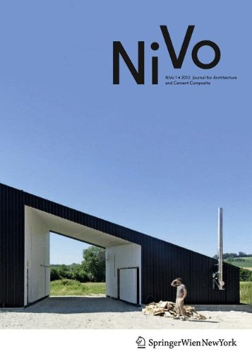 Nivo: Journal for Architecture and Cemen...