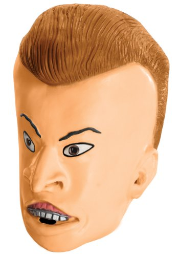 rubies-costume-co-mens-mtv-beavis-and-butt-head-adult-butt-head-mask-multicolored-one-size
