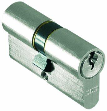 Abus 1054, Cilindro per serratura C 73 N 30/30 SB nach DIN V 18254 Classe 2, incl. 3 chiavi