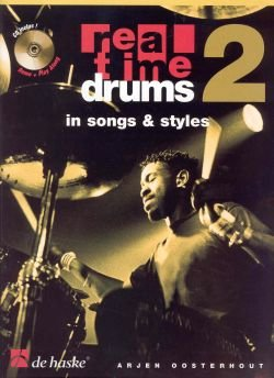 Real Time Drums Vol.2 In Songs & Styles + Cd