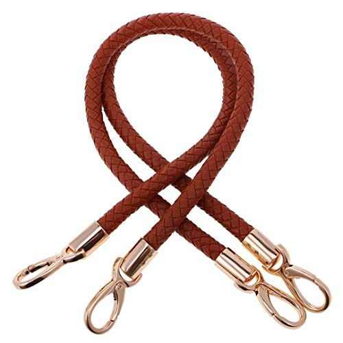 1 Pair of Bag Accessories Ladies Adjustable Wallet Tote Bag Handle Bag Handle 60Cm, As Described Brown