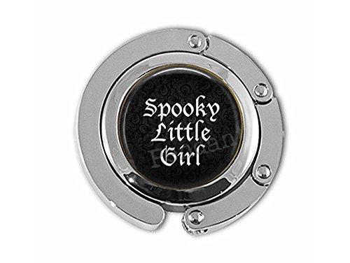 bab Gruseliges kleines Mädchen - Gruseliges Mädchen - Halloween-Schmuck - Wortschmuck - Gruselige Kleiderbügel - Gothic-Schmuck (Gruselige Mädchen Halloween Kleine)