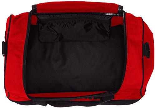 Hummel Authentic Soccer Bag Borsa Da Ginnastica Calcio, Colore:Verde, Dimensione:L, 54 x 32 x 44 Centimeter, 65,5 Litri Rosso / Nero