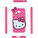 Qzey Nice Hello Kitty Case Cover For Xiamoi Redmi 2S - Pink