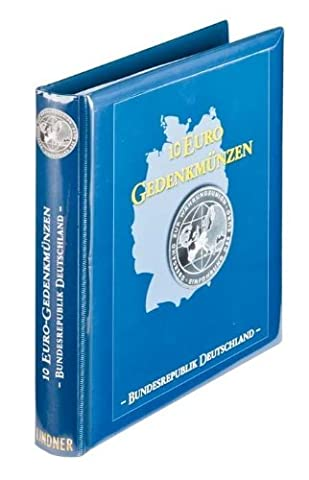 Illustrated album for 10 Euro German commemorative coins 2002-2009 (Lindner