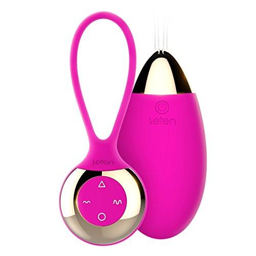 Preisvergleich Produktbild NZL Vibrierende Eierkugel Vibrator Magnetische Ladung Wasserdicht 10-Modus Niedrige Dezibel Intelligente Heizung Stimuliert Die Vagina