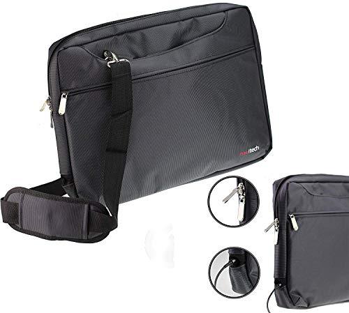 Navitech Schwarz Case/Cover Trage Tasche für Das Toshiba Portégé X20W