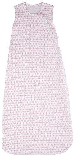 Perlimpinpin Baumwolle Interlock Nap Tasche (Medium, Rosa Kreise)