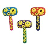 Inflatable Smile Mallets 12 Per Pack