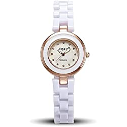 Woman, quartz watch, business, fashion, anti ceramic, W0208