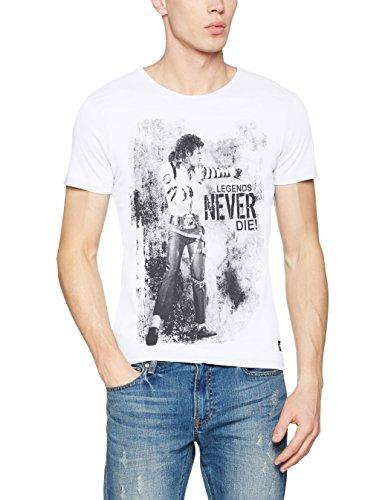 Blend Herren T-Shirt Weiß