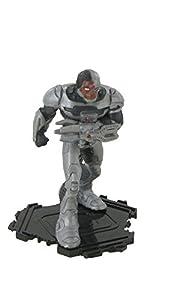 Figuras de la liga de la justicia - Figura Cyborg - 9 cm - DC comics - Justice league - liga de la justicia (Comansi Y99199)