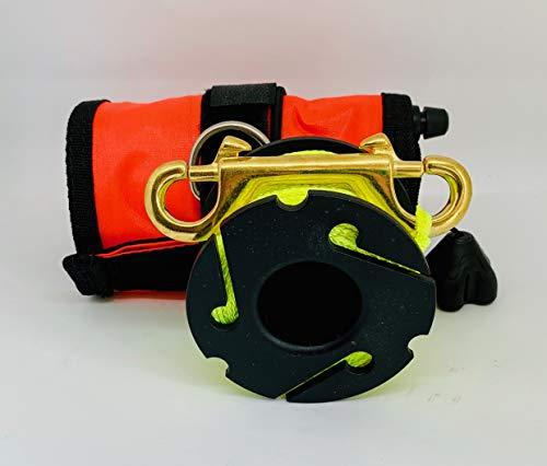 CANDS Tauchen Supplies Ltd Tauchen Neues Design Gelb Finger Spule mit SMB/DSMB 117x 13cm