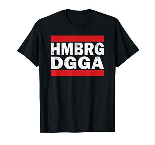 HMBRG DGGA Shirt Hamburger Jungs Moin Diggi Hansestadt SV HH T-Shirt