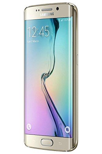 Samsung G925 Galaxy S6 Edge Smartphone, 32 GB, Marchio TIM, Oro [Italia]