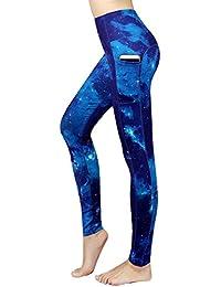 631b4e6615e66 Sugar Pocket Womens Athletic Yoga Pants Printed Workout Yoga Leggings  Fitness Tights