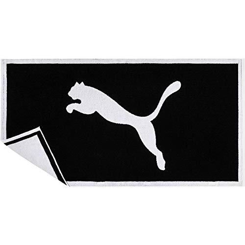 PUMA Towel Handtuch, Black White, UA