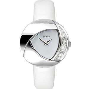 Sekonda Seksy Summer Crystal Eclipsed White Strap Watch 4527