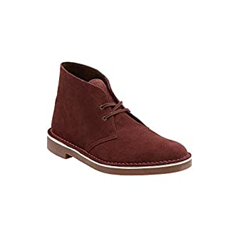 CLARKS Men's Bushacre 2″ Casual Boots Bordeaux 13 M