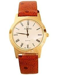 Alpine ALorange - Reloj para hombres color naranja