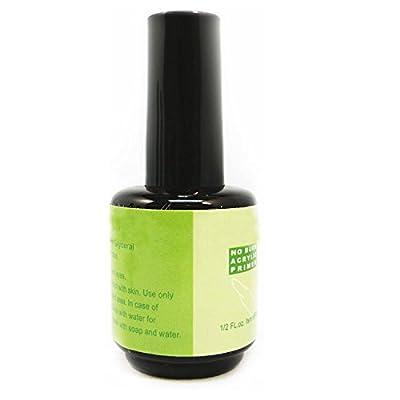 BF New No Burn Acrylic Primer Base 0.5 FL.oz Nail Art Tips Manicure Tool CODE: 60A