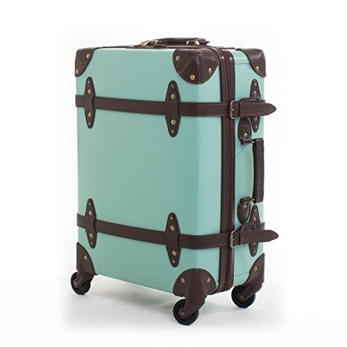 hoom-retro-koffer-rollenkoffer-wasserdichter-reiverschluss-caster-student-lockbox-gepck-kabine-grn-h