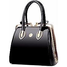 a5fb6dc6f92db Suchergebnis auf Amazon.de für  schwarze Lack Handtasche