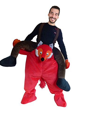 Deadpool Kostüm Hund - Ikumaal Carry-me Fuchs- Kostüm-e F108 One