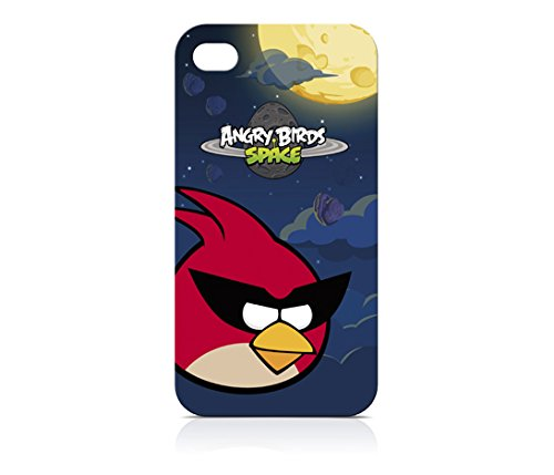 Gear4 ICAS401G Angry Birds Schutzhülle für iPhone 4/4S - 1 Pack - Retail Verpackung - Rot Angry Birds Iphone