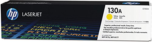 Preisvergleich Produktbild HP 130A Original Toner (geeignet für HP Color Laserjet Pro M176n, HP Color Laserjet Pro M177fw) gelb