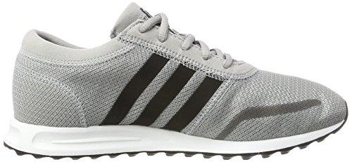 Adidas Unisex Bambini Los Angeles J Scarpe Da Corsa Multicolore (grigio Medio S14 / Core Nero / Ftwr Bianco)