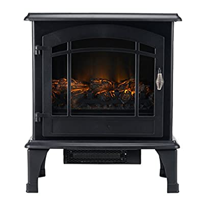 Beldray EH0985 Alcudia Panoramic Electric Stove with Led Flame Effect