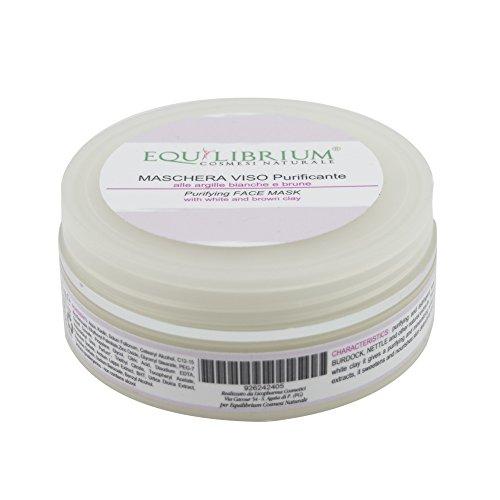 EQUILIBRIUM - COSMESI NATURALE PURIFYING Gesichtsmaske für weißen und braunen Ton 100 ml -