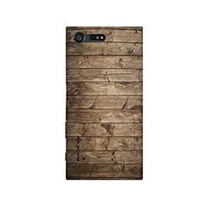 RICKYY Perfect design printed matte finish multi-colored back case cover for Sony Xperia X Compact