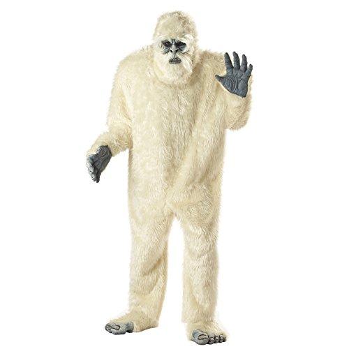 Aptafêtes–cs929650–Kostüm Yeti–Einheitsgröße (Tier Themen Fancy Dress Kostüme)