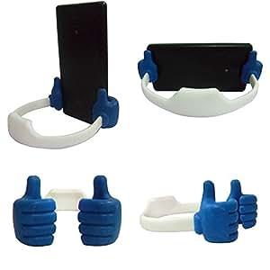 TOTTA Universal OK Desk Stand For LG Optimus L5- BLUE & WHITE