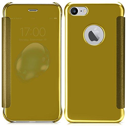 iPhone 7 Plus Hülle Transparent TPU [OneFlow Void Cover] Dünne Schutzhülle Schwarz Handyhülle für iPhone 7 + Plus Case Ultra-Slim Handy-Tasche mit Sicht-Fenster STAR