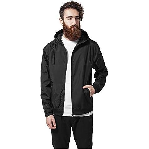 Windbreaker Urban Classics Streetwear Chaqueta Cortavientos Para Hombre, negro, XXL