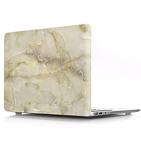 Proelife 2en 1Premium Ultra mince PC Coque rigide Housse de protection et d'une même Motif TPU solide Couvercle de clavier pour MacBook 30,5cm (modèle: A1534) Macbook 12'' Marbré