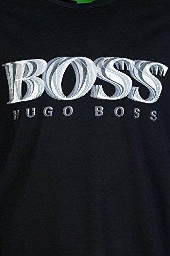 Hugo Boss Herren T-Shirt Schwarz Schwarz Schwarz - Schwarz