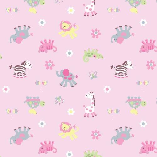 Summer Infant SwaddleMe Blanket - Baby Pucksack - Chick Jungle (Small) Rosa, allerneuste Motive aus USA