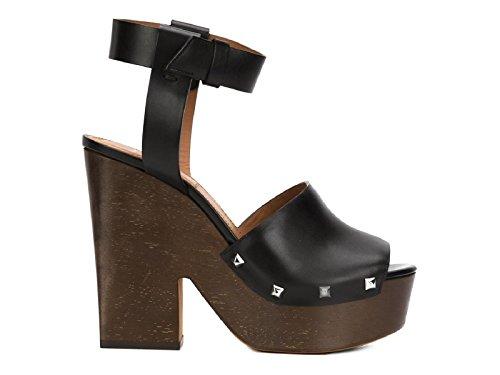 Sandali 'Sofia' Givenchy in Pelle di vitello nero - Codice modello: BE08749004 001 - Taglia: 40 IT