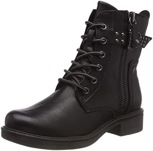 MARCO TOZZI Damen 25279-21 Combat Boots, Schwarz (Black Antic 002), 40 EU