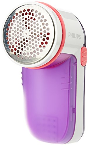 Philips GC026/30 Fabric Shaver (White/Purple)  available at amazon for Rs.1129