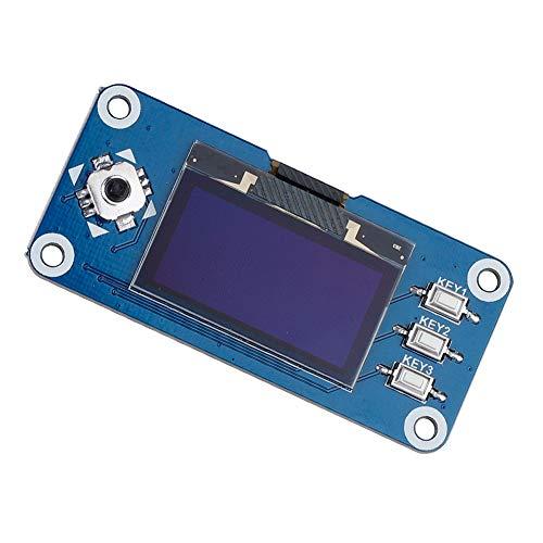 1,3 Zoll OLED Display HAT Erweiterungskarte 4-Draht SPI, 3-Draht SPI und I2C Unterstützung für Raspberry Pi 2B / 3B / Zero/Zero W - Vier-draht-unterstützung
