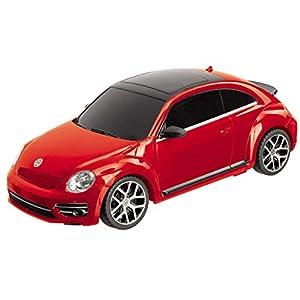 Mondo-VW New Beetle Volkswagen Vehículo teledirigido Escala 1: 24, Color Amarillo/Verde, 1899-12-31t0100.000z, 63540