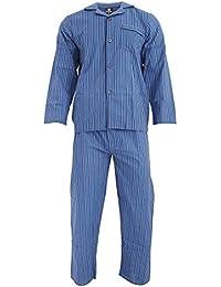 Cargo Bay - Conjunto de pijama a rayas de lana para hombre