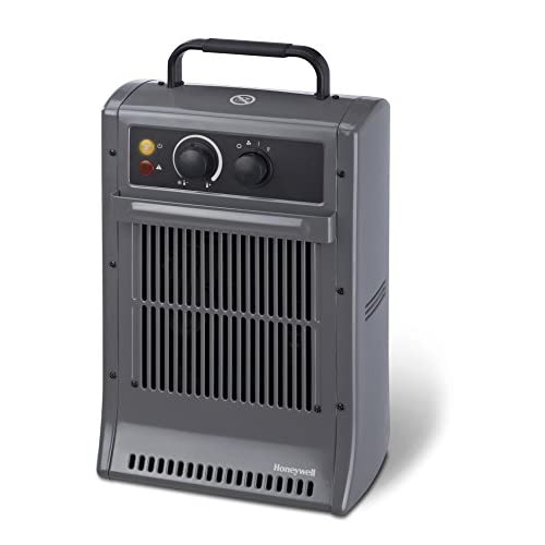 41E0Wmw5FgL. SS500  - Honeywell Heavy Duty Heater - Grey