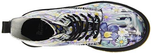 Dr. Martens Pascal Paint Slick Purple, Chaussures bateau femme Violet (Viola)